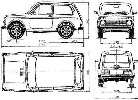 Описание конструкции. ВАЗ-2121